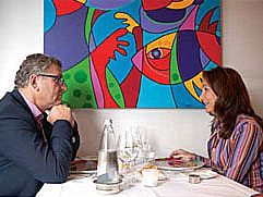 At the table. A good conversation with Henk Krol & Marianne Naerebout