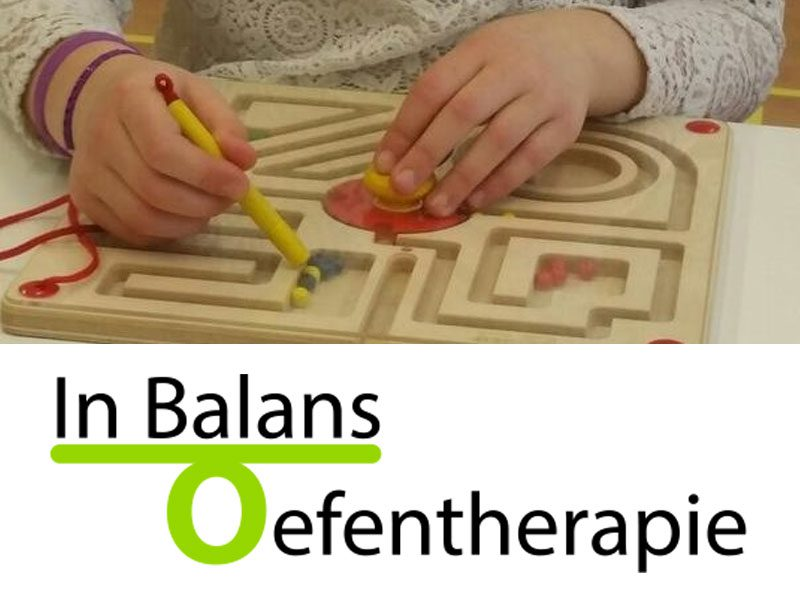 Kinderoefentherapie op school door In Balans Oefentherapie